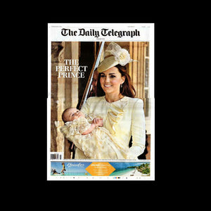 Daily Telegraph - Christening of Prince George - 24th October 2013