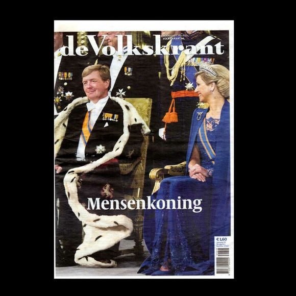 De Telegraaf - Coronation of Willem-Alexander - 2013