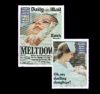 Daily Mail - Christening of Princess Charlotte - 2015