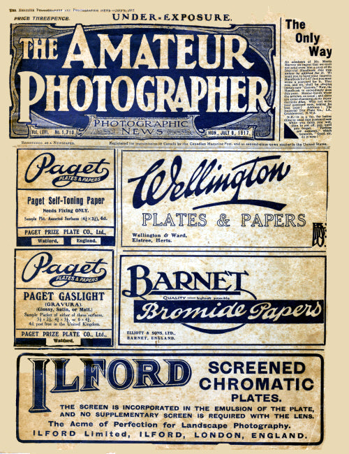 Amateur Photographer - 1st July 1917