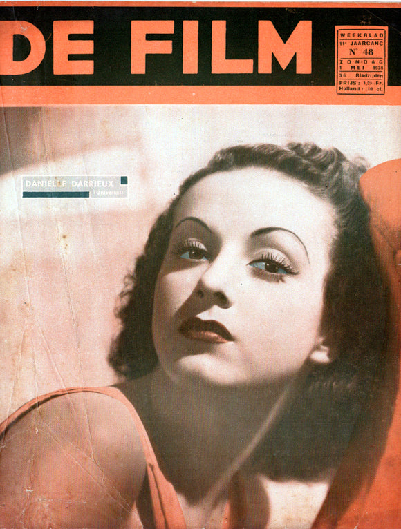 De Film - Dutch film magazine - 1st May 1938