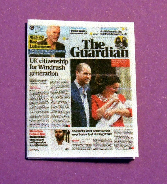 The Guardian - Birth of Prince Louis