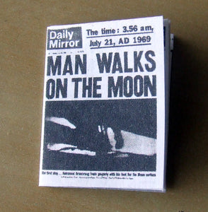 Daily Mirror - Apollo 11 moon landing