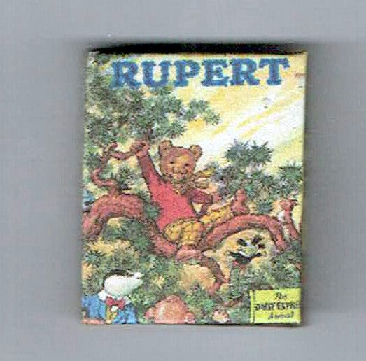 Rupert Bear Annual 1973 Brown Face