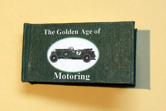 The Golden Age of Motoring