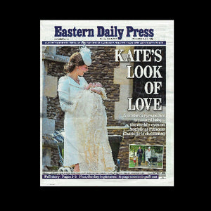 Eastern Daily Press - Christening of Princess Charlotte - 2015