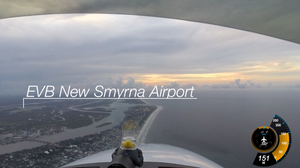 Flying Florida Shoreline With New Avidyne IFD550