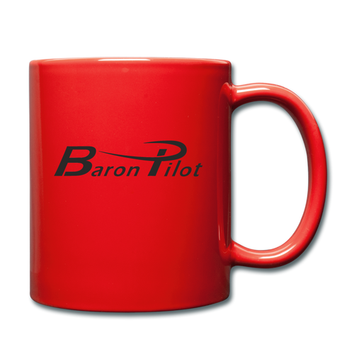 Baron Pilot Full Color Mug - red