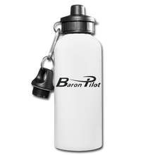 Baron Pilot Water Bottle - white