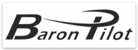 Baron Pilot Rectangle Sticker