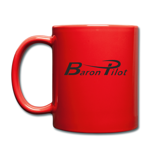 Baron Pilot Color Mug - red