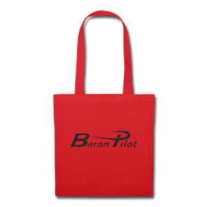 Baron Pilot Tote Bag - red