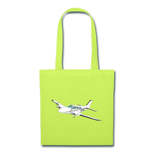 3175W Tote Bag - lime green