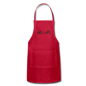 Baron Pilot Adjustable Apron - red