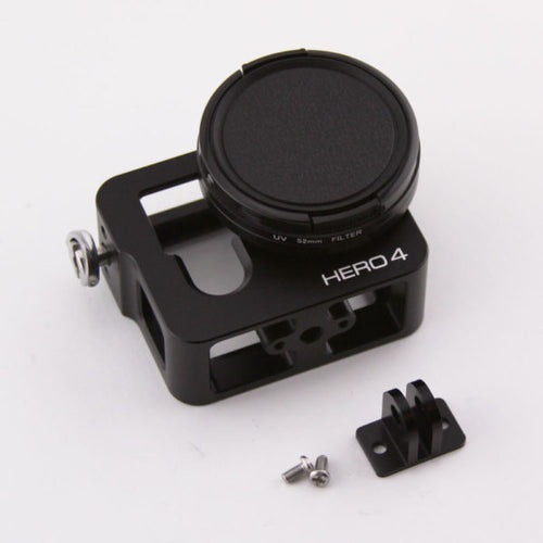 Metal Gopro Safe Case Hero 3 & 4 w/ Prop Filter
