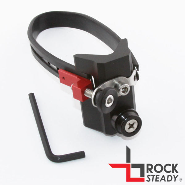 Rock Steady Strut Base w/ Cushioned Steel Strap