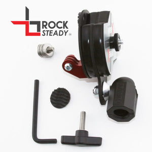 Rock Steady VibeX Mount w/ GoPro Adapter (No Base)