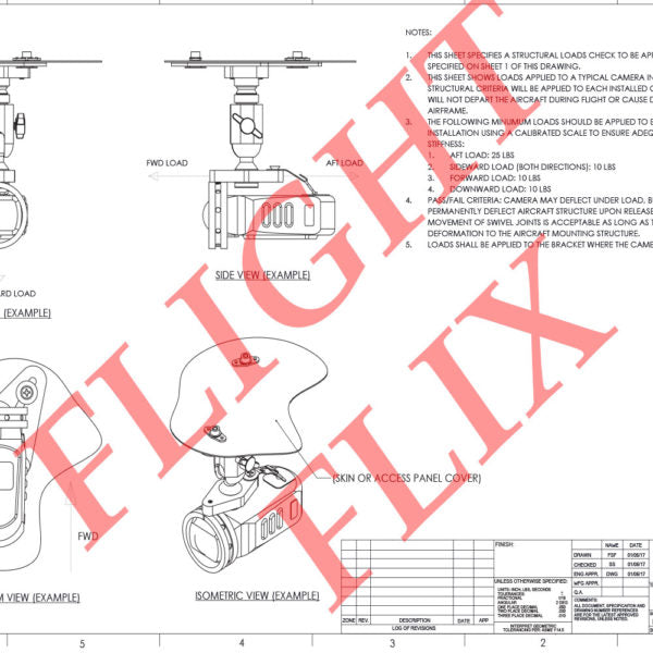 FAA Approval Packet (Airplane)