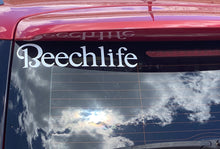 White Beechlife Transfer Decal