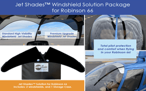 Robinson R66 Helicopter Windshield Solution