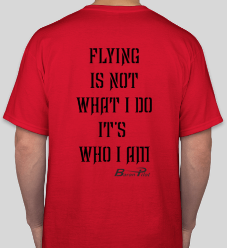 Red Baron Pilot Shirt