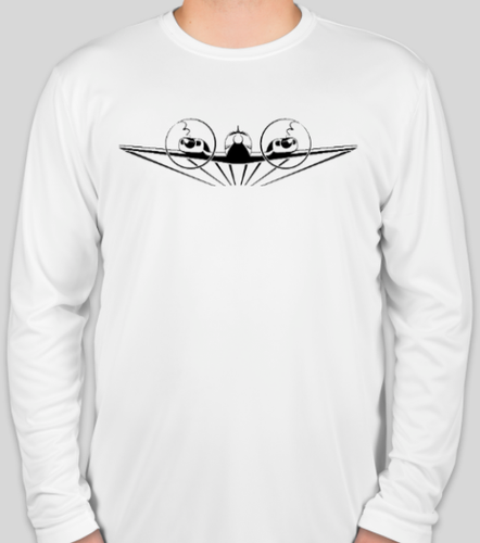White Baron Pilot Long Sleeve Shirt