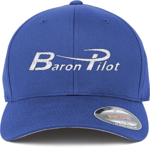 Baron Pilot Structured Hat - Royal