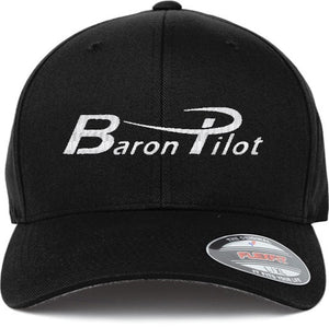 Baron Pilot Structured Hat - Black