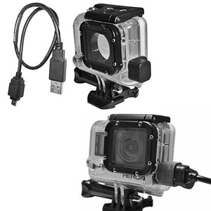Weatherproof GoPro Power Cable & Case – Hero 3 & 4