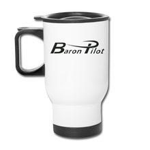 Baron Pilot Travel Mug - white