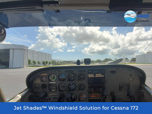 Windshield Solution for Cessna 172