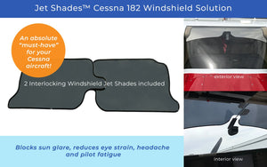 Windshield Solution for Cessna 182