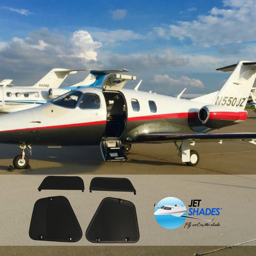 Jet Shades™ – Eclipse 500/550 Pilot Cockpit Set