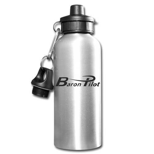 Baron Pilot Water Bottle - silver