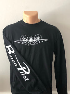 Black Baron Pilot Long Sleeve Shirt