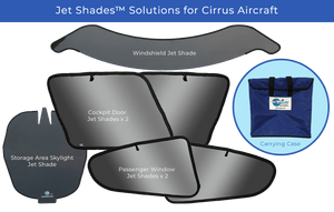 Jet Shades™ Solutions for Cirrus Aircraft