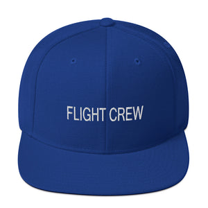 Flight Crew Snapback Hat (More Colors)