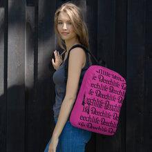 Magenta Beechlife Backpack
