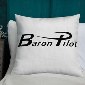 White Baron Pilot Premium Pillow