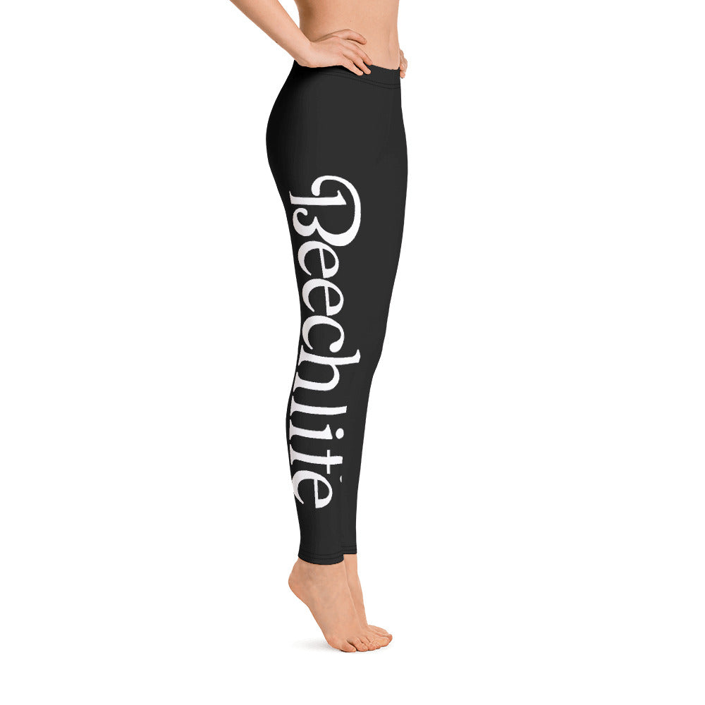 Black Beechlife Leggings Right Leg