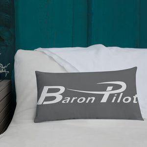 Gray Baron Pilot Premium Pillow