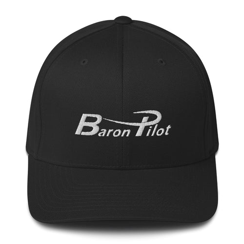 Baron Pilot Structured Twill Hat (More Colors)