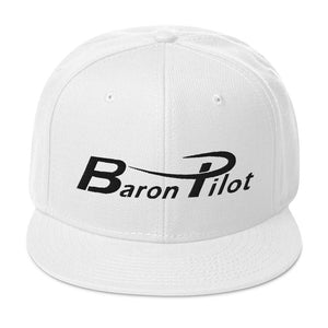 Baron Pilot Snapback Hat (More Colors)