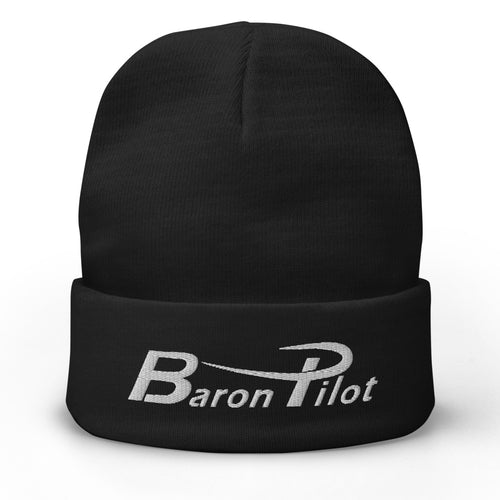 Embroidered Baron Pilot Beanie (More Colors)