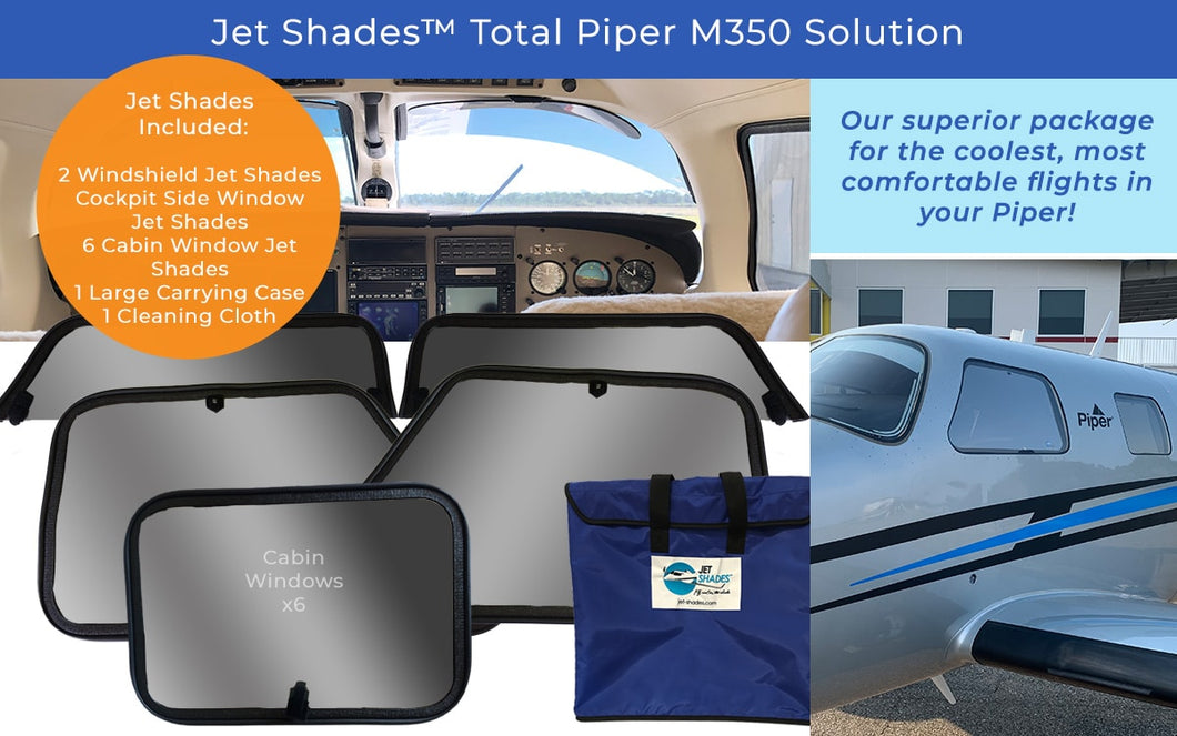 Jet Shades™ Solutions for Piper M350