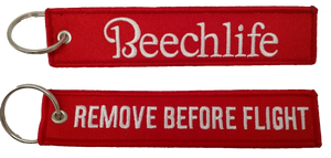 Beechlife / Remove Before Flight Keychain