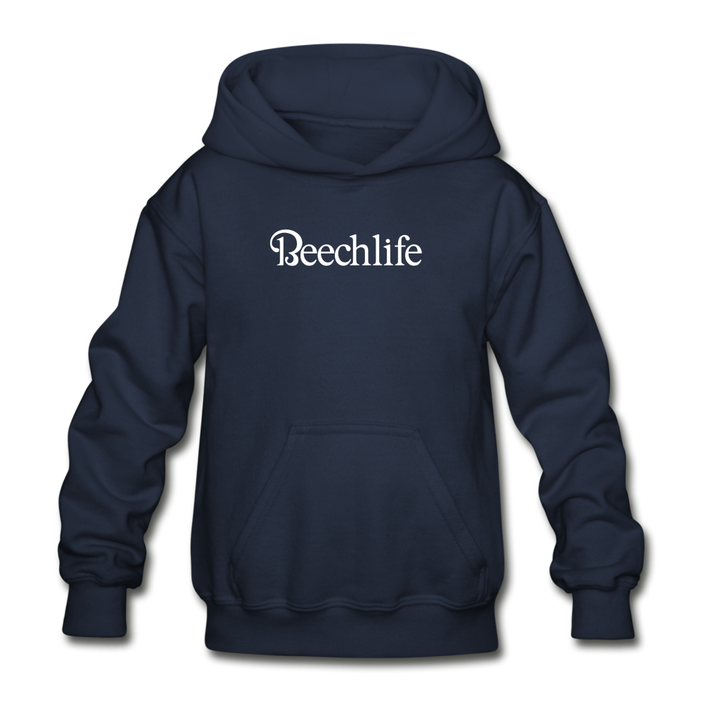 Beechlife Kid's Hoodie (More Colors) - navy