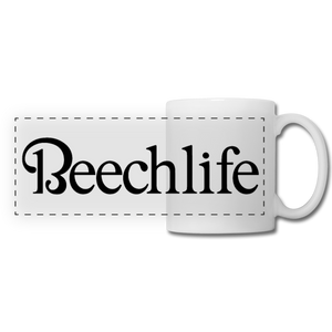 Beechlife Panoramic Mug - white