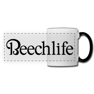 Beechlife Panoramic Mug - white/black