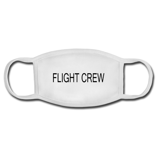 Flight Crew Face Mask - white/white